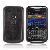"""Exclusive"" TPhone Eco-Design Blackberry Bold 9780 9700 100% Hard Wood Back Cover Case - Sonokeling Wood"