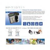 Original DICAPac WP-711 Waterproof Case for Digital Cameras w/ Neck Strap