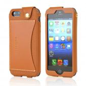 Wetherby Premium Bar Apple iPhone 5 CASE Brown