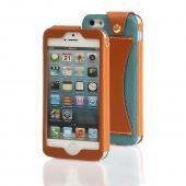 Mint Wetherby Premium Bar Series Handcrafted Leather Case w/ ID Slot for Apple iPhone 5