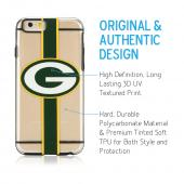 Apple iPhone 6/6S (4.7 inch) Sports Case, [Green Bay Packers] Hydroclear Ultra-Slim 3D UV Printed Textued Hard Back Case w/ TPU Border