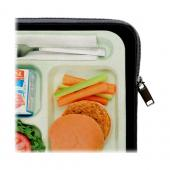 Original Zero Gravity Apple iPad (All Gen.) Nylon Sleeve Case - Green/ Orange Lunch Tray